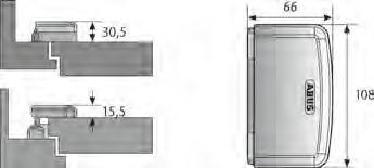 abus tas112 massive scharnierseitensicherung bandseite 57 50 euro. Black Bedroom Furniture Sets. Home Design Ideas