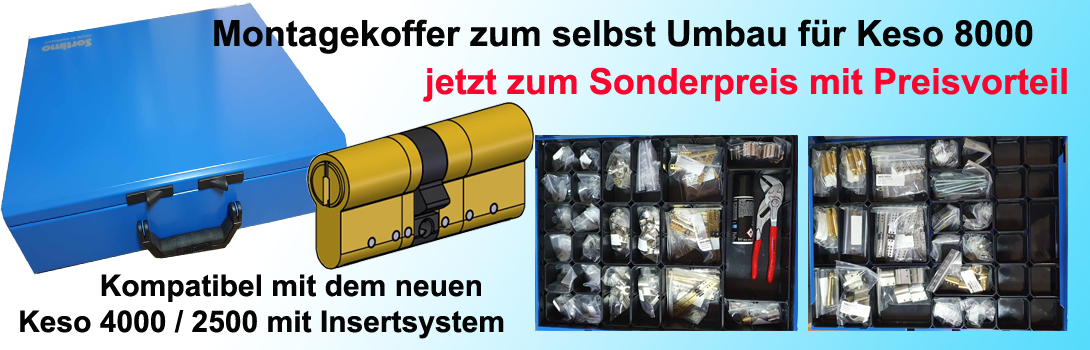 Montagekoffer für Keso 8000