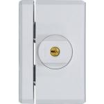 Massives Fenster-Zusatzschloss mit Drehknauf und Schlüssel FTS96A (Alarm)
