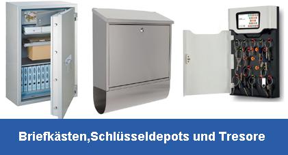 Briefkästen Schlüsseldepot Tresore Kassetten...