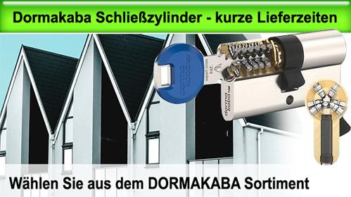 Dormakaba Schließzylinder Systeme mit direkt Versand über...
