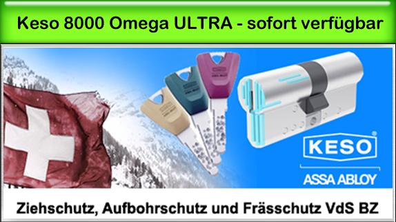 Keso 8000 Omega² Ultra mit Bohr- und Zieh- und Frässschutz
