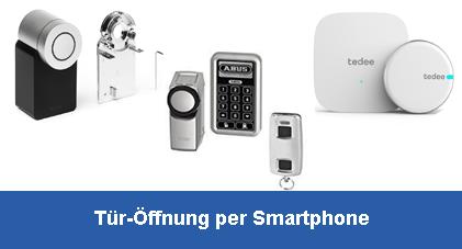 Türöffnung per Smartphone - Tedee, Nuki, evolo smart,...