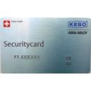 Ersatzsicherungskarte für KESO System...