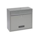 Briefkasten BK 900 Stahl - Silber