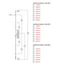 KFV Mehrfachverriegelung AS 9800 mit 4 Rollzapfen...