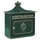 Briefkasten 1895 Bordeaux aus massivem Alu-Guss