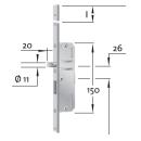 KFV Mehrfachverriegelung AS 2300 mit 2 Rundbolzen 92-55-20-8
