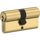 Zylinder-Färbung Messing natur (MS)
