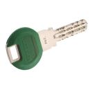 Smartkey dunkelgrün Kunststoffclip