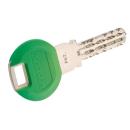 Smartkey hellgrün Kunststoffclip