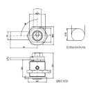 Kaba penta Blechmontage-Briefkastenzylinder BMZ