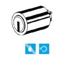 Keso Schließzylinder 8000S Omega² für...