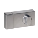 Kastenzusatzschloss KS500 Silber