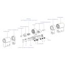 Keso Zylinder Insert Verlängerungen für System 8000