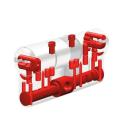 Abus Knaufzylinder MX Magnet mit 3 Wendeschlüssel