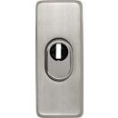 Tür Außenrosette TSS550 Edelstahl-Optik