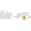 Tür-Zusatzschloss 7010 B ohne Zylinder