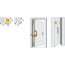 Scharnierseitensicherung (Bandseite) TAS82