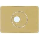 Außenrosette PR2800 Messing-Optik