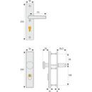 Schutzbeschlag HLN414 ZS F2 - 92/10