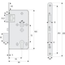 TKZ40/20 R/L ER PZ Einsteckschloss verriegelt automatisch