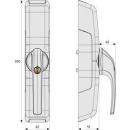 HomeTec Pro FCA3000 B Funk-Fensterantrieb