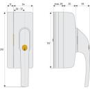 Fenster-Zusatzsicherung FO400N B
