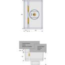 Fenster-Zusatzsicherung FTS96A W (Alarm)