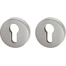 Schlüsselrosette, matt, Europrofil 2 Stück PZ