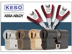 Alle Keso Zylinder in unterschiedlichen Farben verfügbar